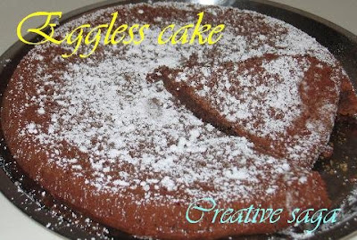 healthy eggless cake