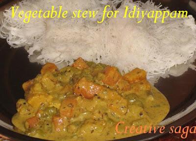 veg stew for idiappam
