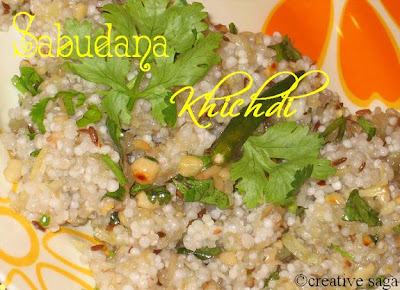 sabudana khichdi