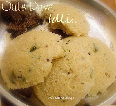 oats rava idli