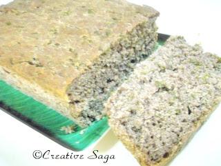 spinach ragi bread