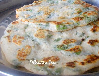 muringai ilai/drumstick leaves dosa