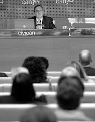 conferencia sobre Miguel Hernández en Pamplona, febrero 2010