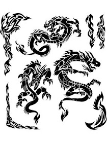 Tattoo dragon meaning tribal The Meaning