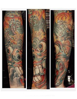 Sleeve Tattoo Style Design