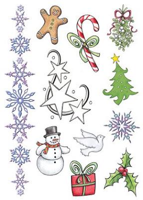 Christmas Tattoo Design