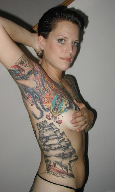 skeleton tattoo designs. Tattoo Girl Picture