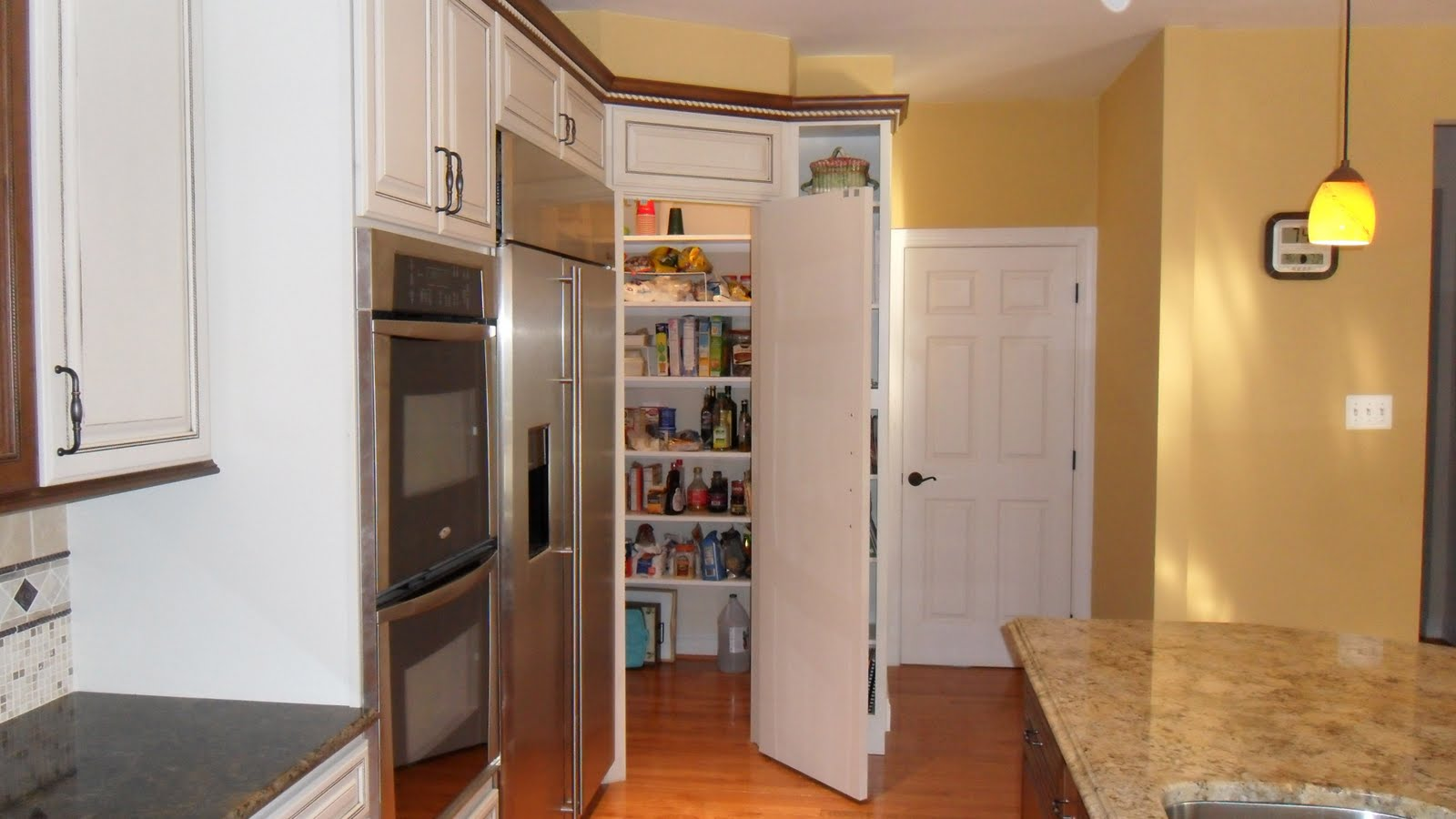 Large Kitchen Pantry Cabinet