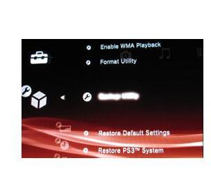 how do you reinstall game data on ps3