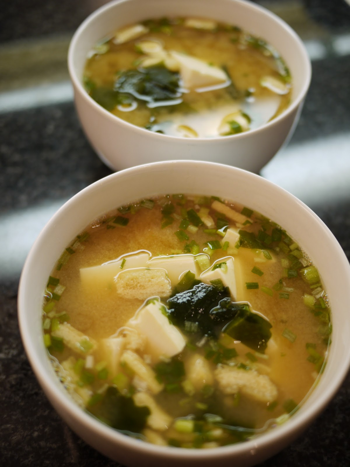 Carol's Kitchen: Japanese Miso Soup