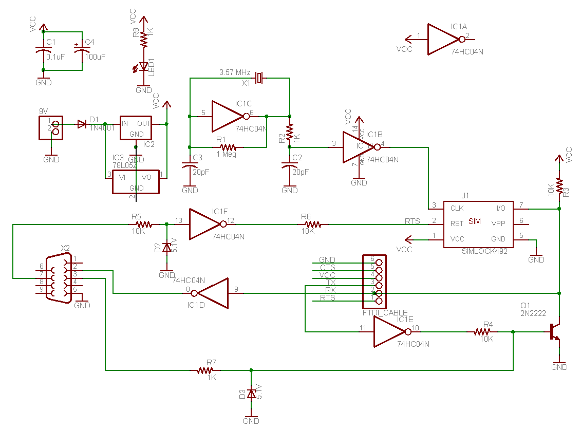 How to make a sim card reader cbt bazar create your layout using this circuit diagram pooptronica