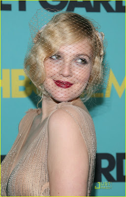 Drew Barrymore Grey Gardens premier Just Jared