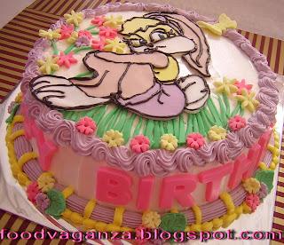 Ayla S N Ayra Lola Bunny Birthday Cake