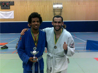 Clif and Abou who train BJJ in Den Haag, Amsterdam and Rotterdam