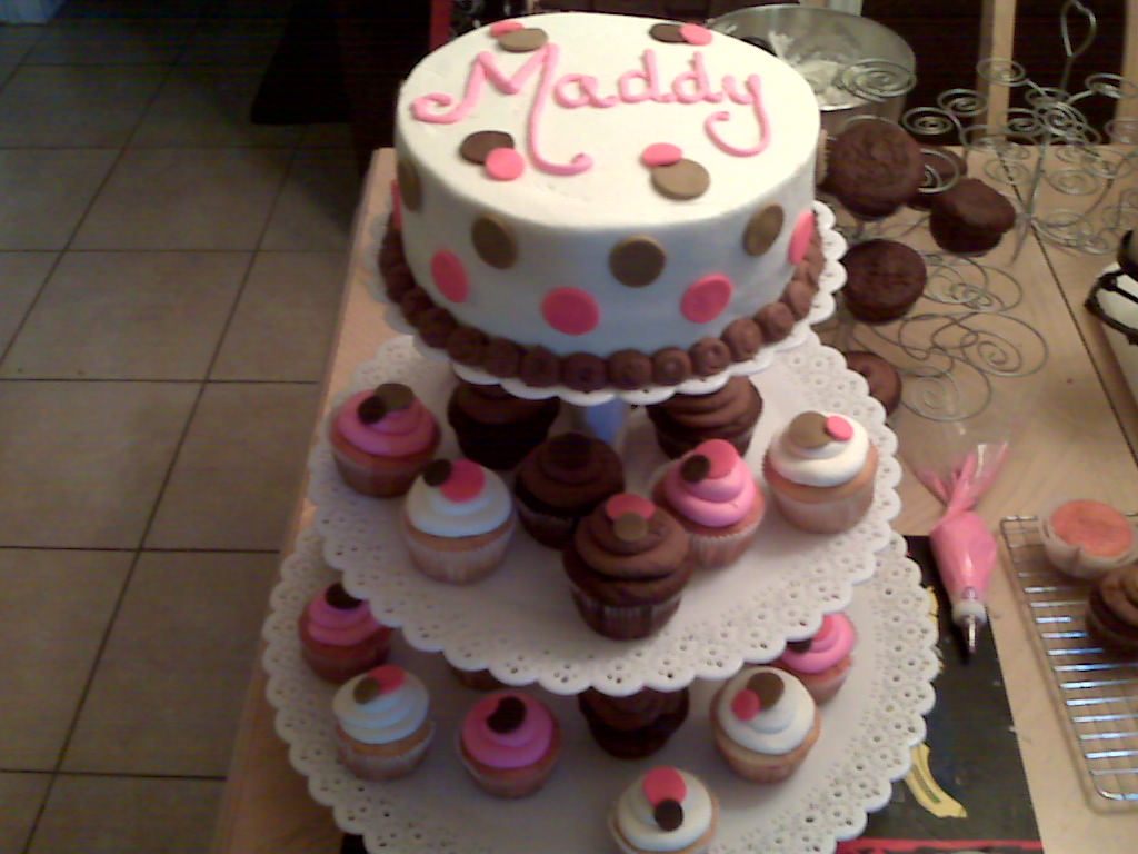cakes by nichole baby shower cupcake tree