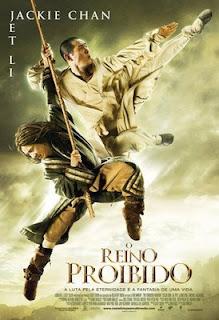 Filme Poster O Reino Proibido DVDRip RMVB Dublado