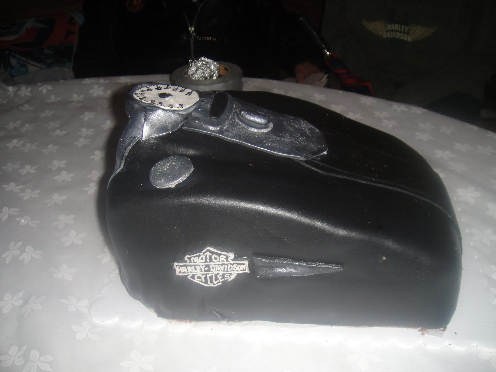 How To Make A Motorcycle Gas Tank Cake