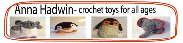 Anna Hadwin crochet toys