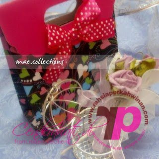 Maecollections | Paper beg kahwin | Cenderahati Perkahwinan | Doorgift Kahwin | Hantaran Pengantin | Bunga Telur | Wedding Favors