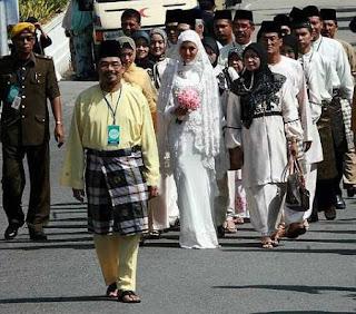Majlis perkahwinan mawi dan ekin