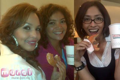 gambar Noryn Aziz, Rina Omar dan Azura Zainal (Disney Channel)