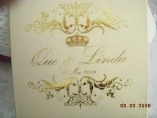 Gambar Kad Kahwin Que Haidar dan Linda Jasmine Hashim | Kad Kahwin | Wedding Card | kad undangan | kad jemputan | kad kahwin indonesia | kad kawin