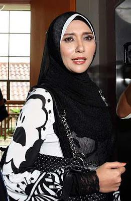 Gambar Maizawati Zainal, Isteri Akhil Hayy