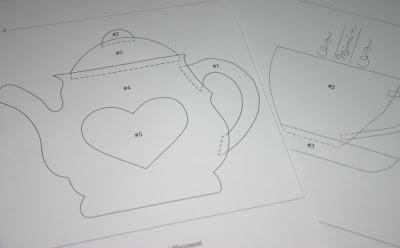 Pieced Teapot Block | FaveQuilts.com - Free Quilt Patterns