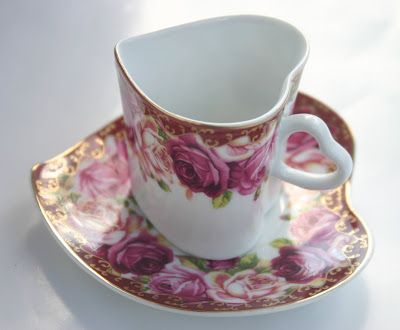 Tea With Friends Hearts And Roses For Valentine 39 S