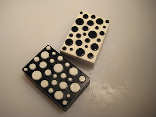 Tiled Square & Polka Dot Soap Molds