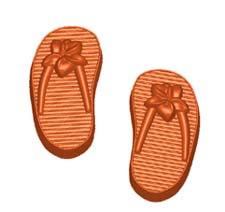 Personal Size Flip Flops