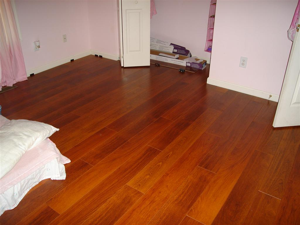 DIY Project: Costco's Harmonics Brazilian Cherry Laminate Review ...