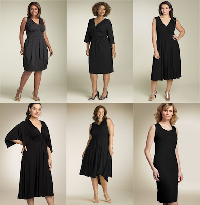 White Dress on Fashion Me Fabulous  Plus Size Little Black Dresses