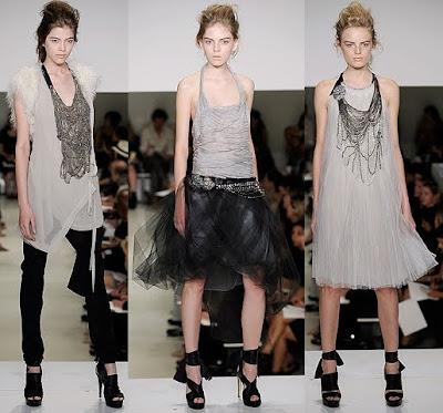 Spring 2010 Fashion Week on Vera Wang Spring Summer 2010 New York Fashion Week