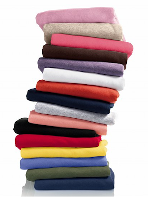 Layering tees in every color