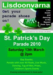 St. Patrick's Day Parade in Lisdoonvarna