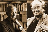 John Updike and John Mortimer