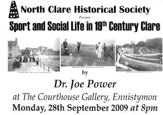 The North Clare Historical Society presents