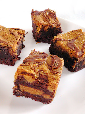 Baked Perfection: Peanut Butter Swirl Brownies