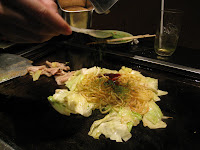 Kizahashi grill it yourself okonomiyaki restaurant lolo eatable lets say this restaurant was created as a giy grill it yourself restaurant however if customers perfer staff to do it for you you are more than solutioingenieria Image collections