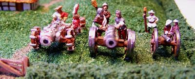 Games, workshop, cannon, artillery, empire, warmaster, warhammer, painted, hellblaster, organ gun, Kallistra