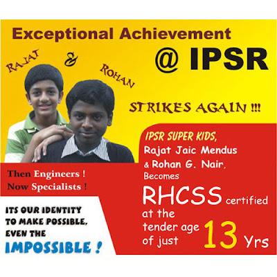 World's Youngest RHCSS