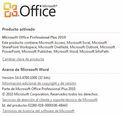 Microsoft Office Professional Plus 2010 FINAL (Español) (x64)