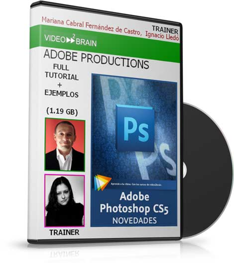 VIDEO2BRAIN: Adobe Photoshop CS5 NOVEDADES (2010)