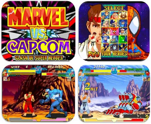 Marvel vs. Capcom (Portable)