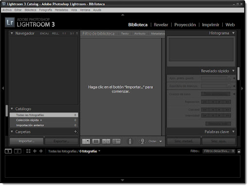 Adobe Photoshop Lightroom 3 PORTABLE (Multilenguaje)