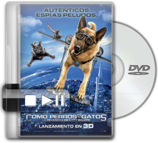Como Perros y Gatos: La Revancha de Kitty Galore (Castellano) (TS) (2010)