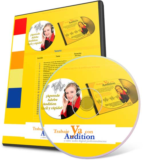 Trabaje ya con Audition (Videotutoriales)