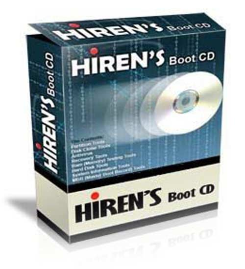 Hiren's BootCD v12.0 - Diagnostica y Repara tu PC