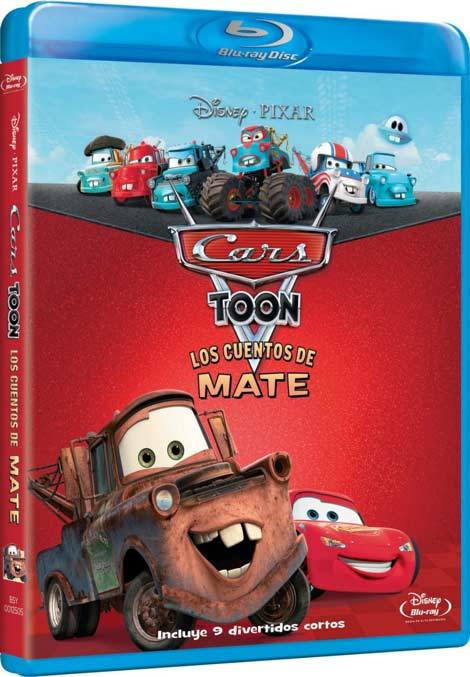 Car Toons: Disparates de Mate (Dual Español Latino-Inglés) (720p BRRip) (2010)